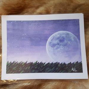 New Watercolor Art Print
